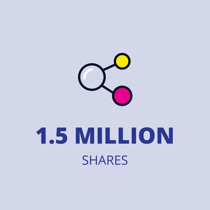 1.5 million shares